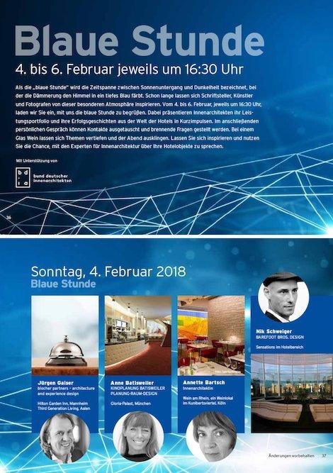 Vortrag Auf Der Intergastra 2018 Kinoplanung Batisweiler